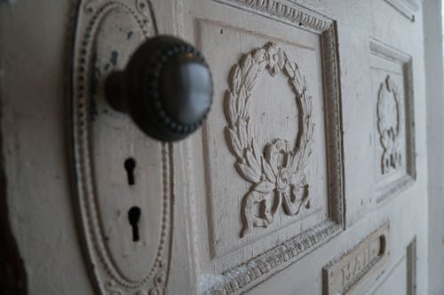 Free stock photo of architectural detail, door knob