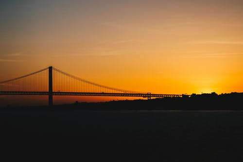 Free stock photo of 25 de abril bridge, bridge, estreet, europa