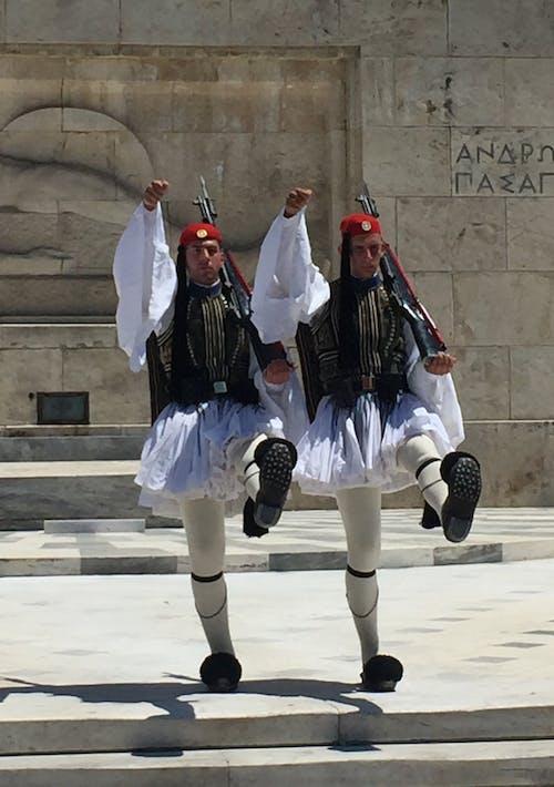 Gratis arkivbilde med athen, hellas, parlament, soldater