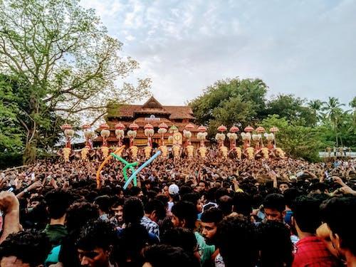 Fotobanka sbezplatnými fotkami na tému chrám, dobre vyzerajúci, festival, kerala