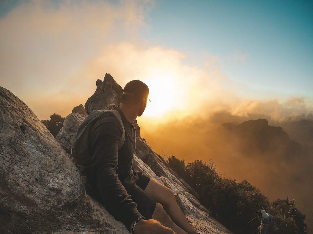 alpinismo, alpinista, alto