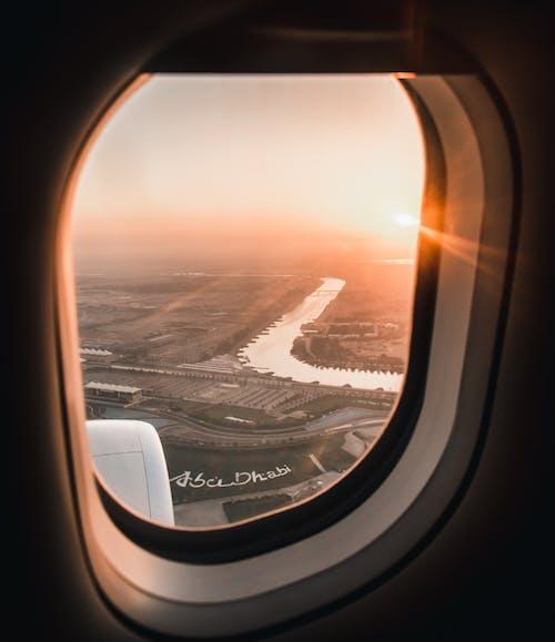 Δωρεάν στοκ φωτογραφιών με fisheye, αεροπλάνο, αεροπλοΐα, αεροσκάφη