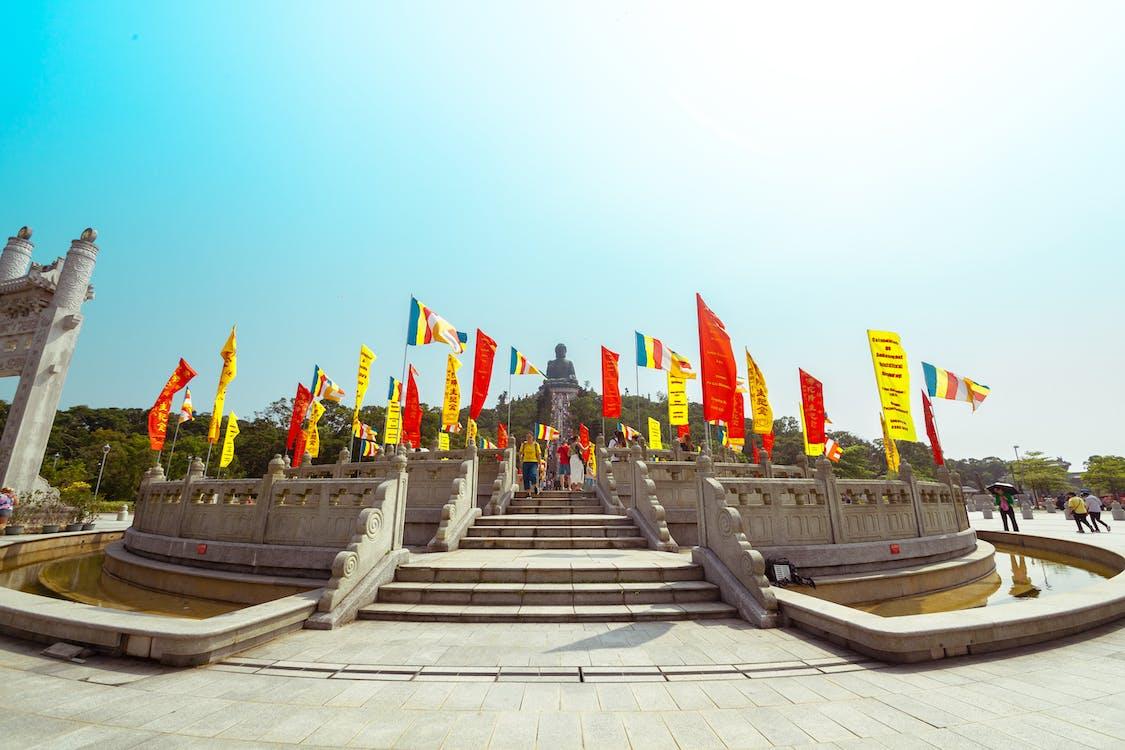 Buddha, Čína, Hongkong