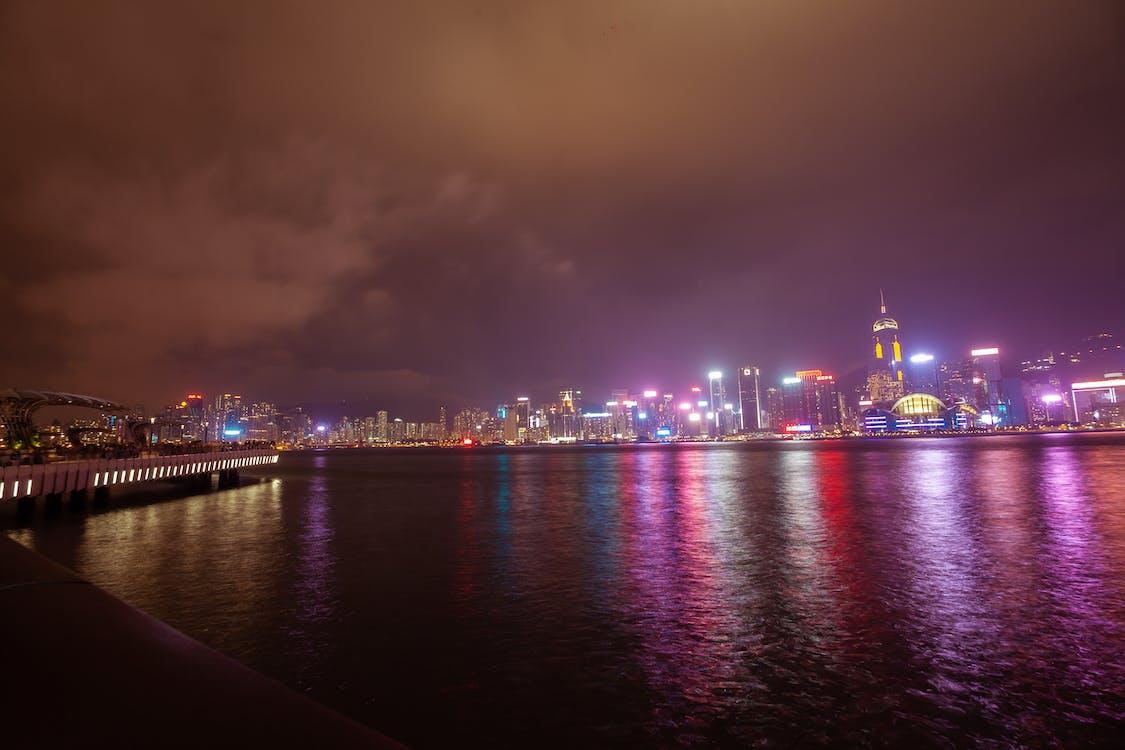 arquitectura, China, ciudad