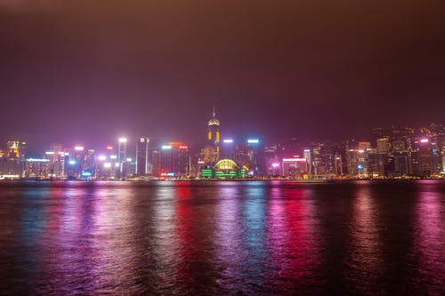 建築, 景觀, 長時間曝光, 香港 的 免費圖庫相片