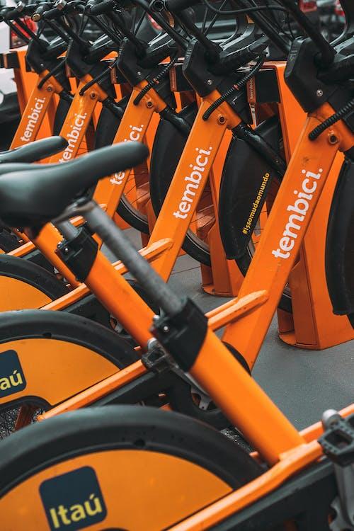 bicicleta, laranja, orenge, streetphotography 的 免費圖庫相片