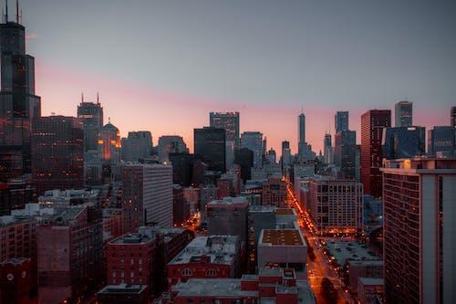Foto stok gratis Arsitektur, atap, bangunan, biro