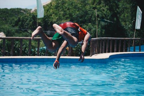 人, 休閒, 动作能量, 夏天 的 免费素材照片