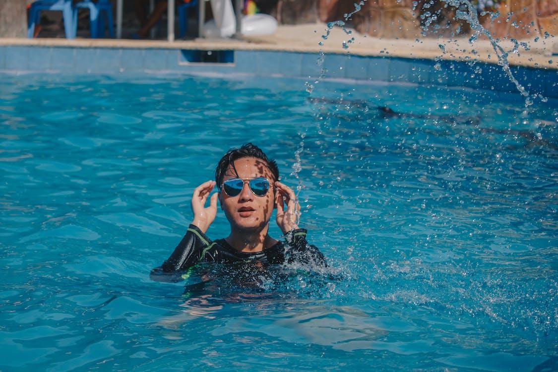 ánh sáng ban ngày, bơi, bơi lội