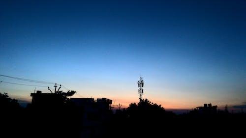 Free stock photo of black wallpaper, communication tower, dark, desktop wallpaper