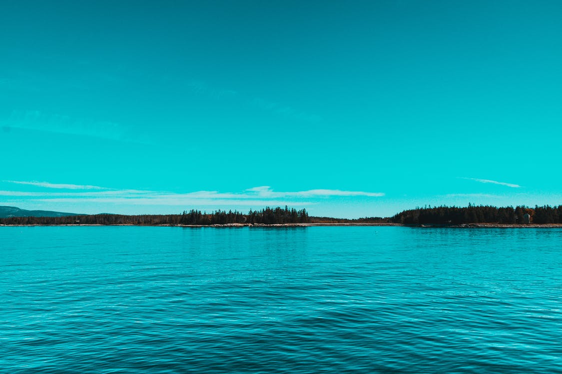 aigua, Aigües tranquil·les, calma
