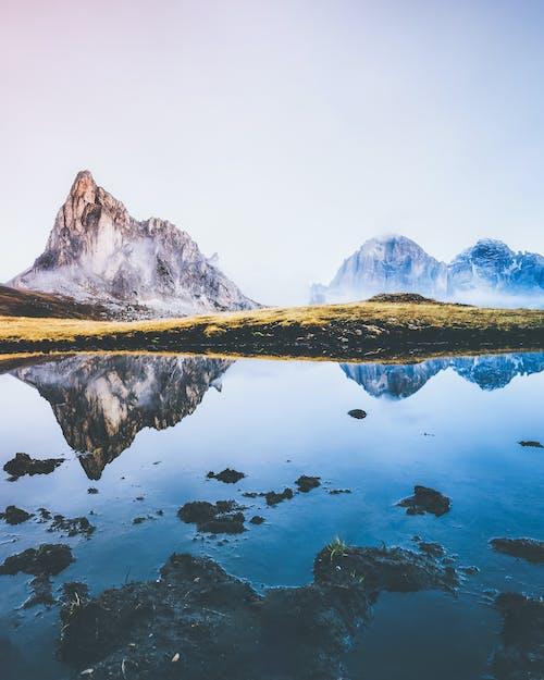 Foto profissional grátis de água, altitude, alto, ao ar livre