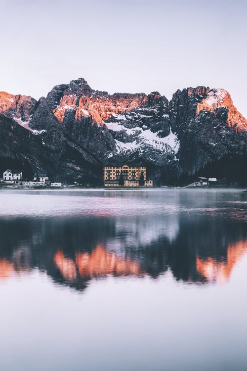 Fotos de stock gratuitas de agua, al aire libre, Alpes, amanecer