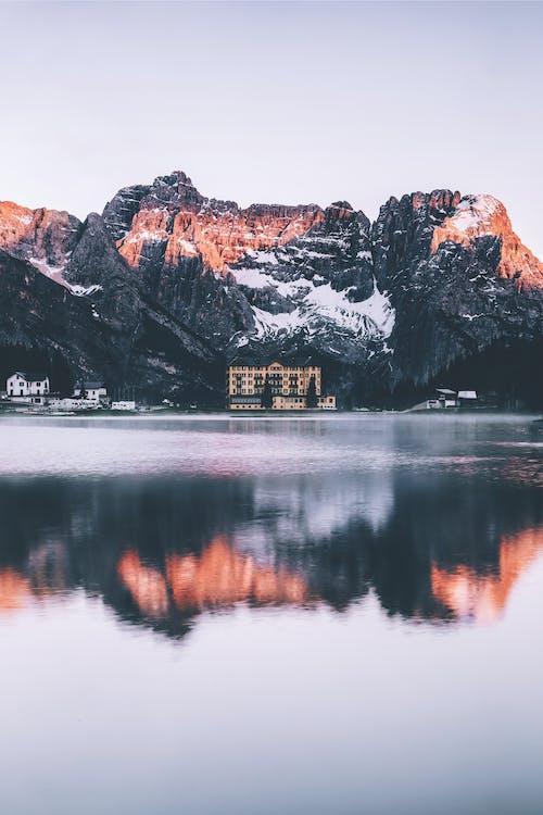 alpy, dolomity, góra