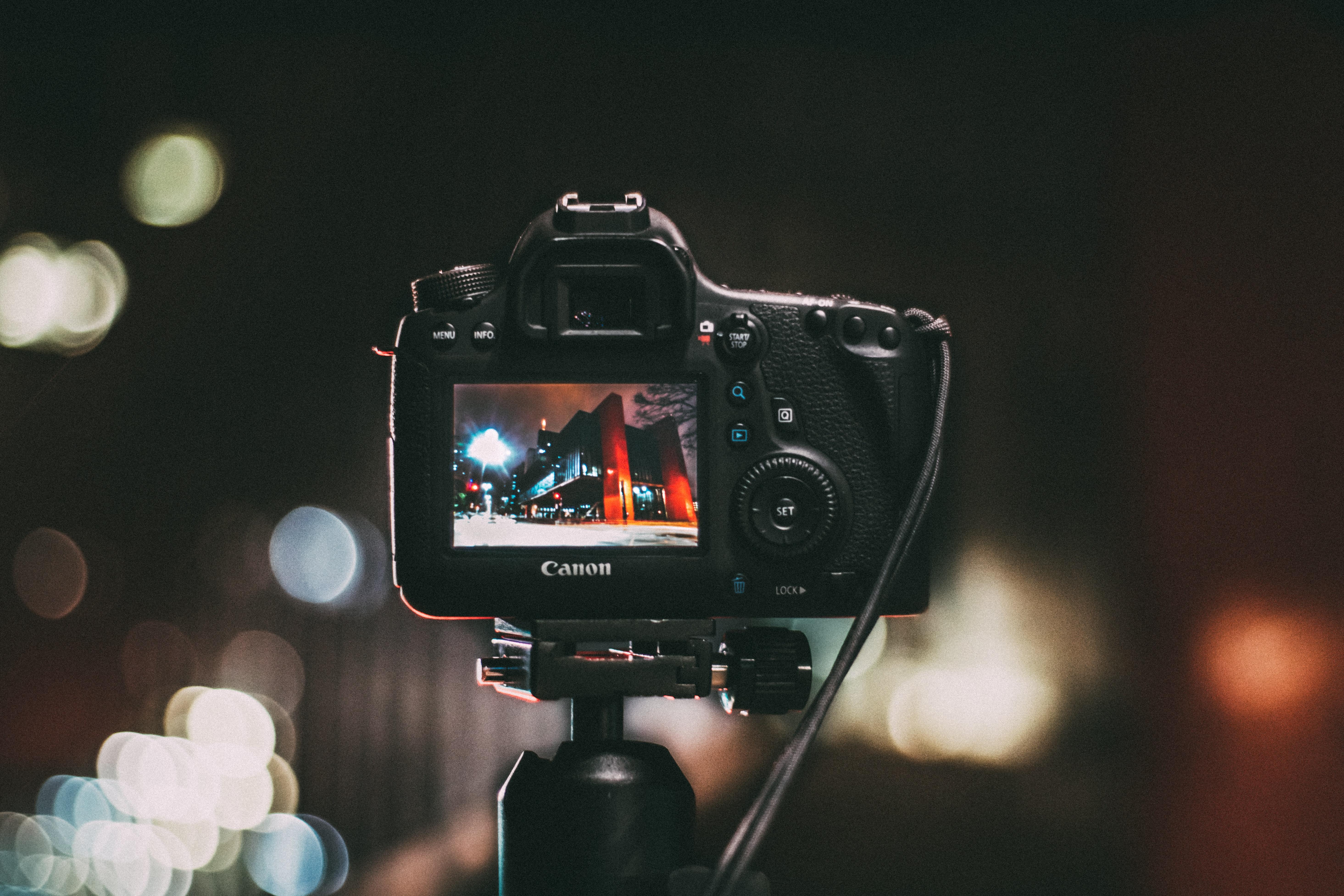 Free Stock Photo Of Camera Canon Dslr