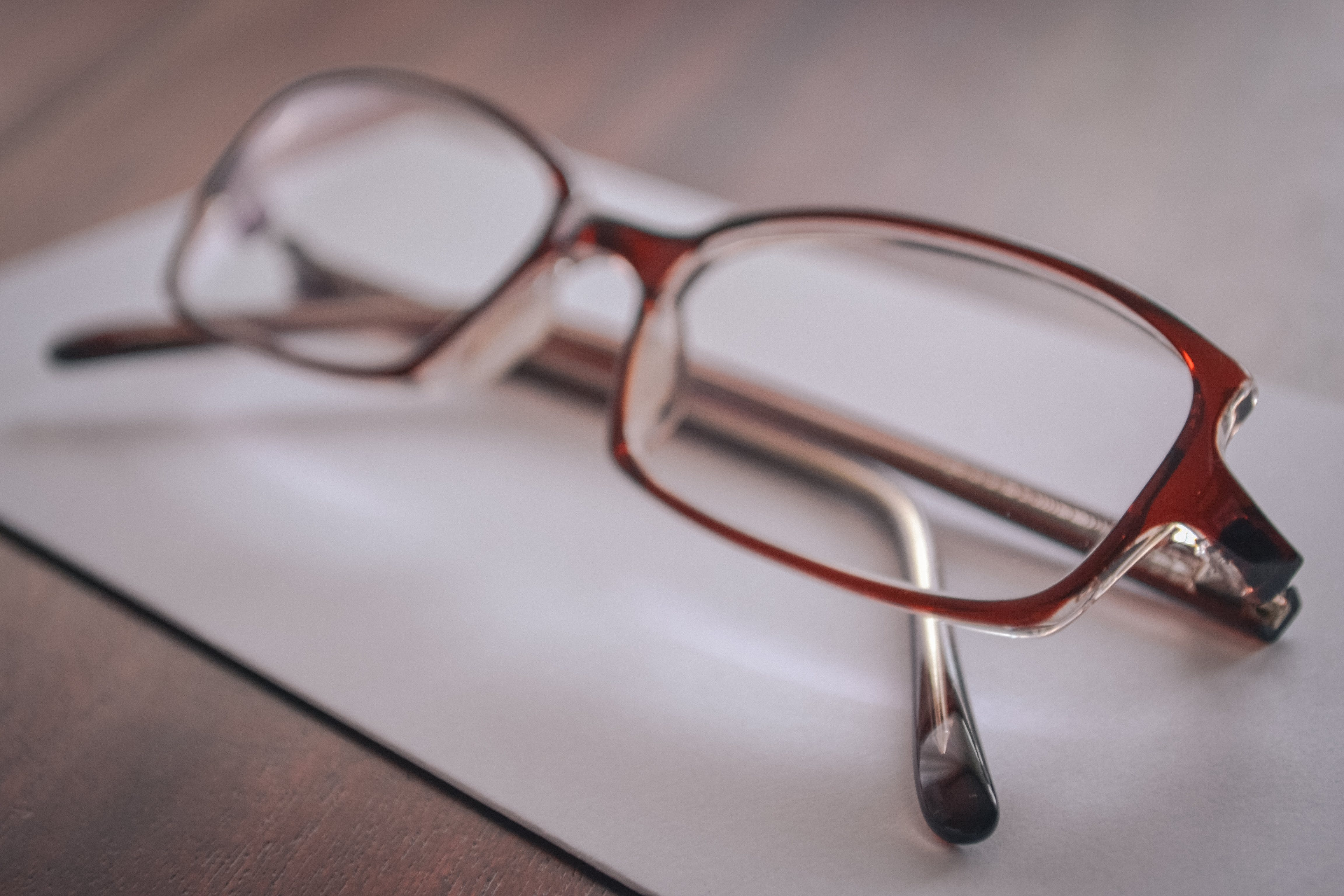 Eyeglasses on Paper