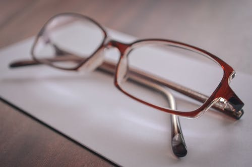 Eyeglasses on Paper