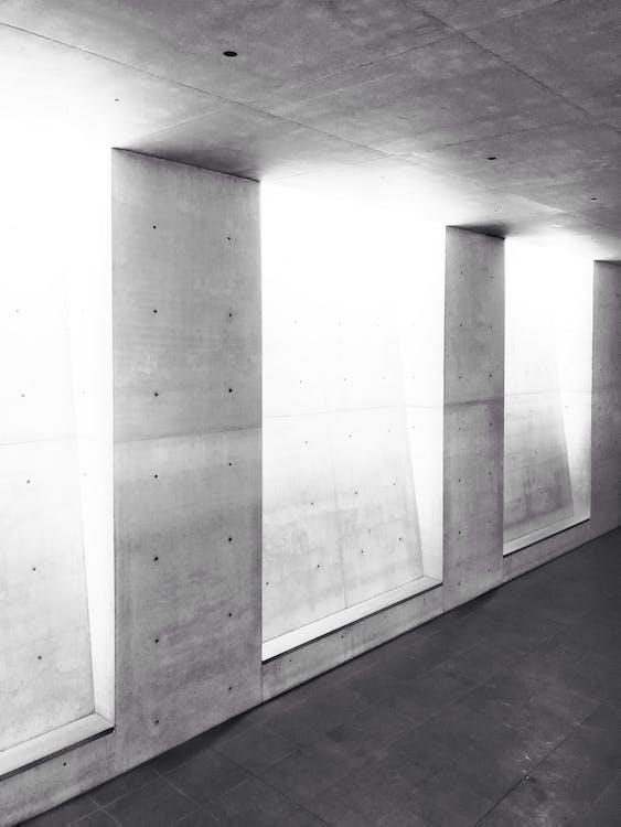 インドア, コンクリート, コンクリートブロックの無料の写真素材
