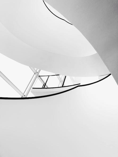 Foto stok gratis abstrak, angkasa, Arsitektur, cahaya