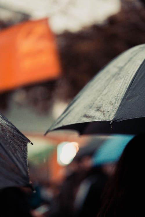 ฝน, ร่ม