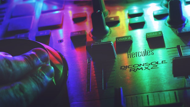 Free stock photo of lights, music, colorful, colourful