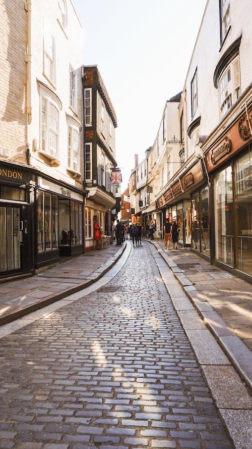 Fotobanka sbezplatnými fotkami na tému Anglicko, canterbury, cestovať, stará ulica