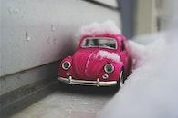snow, winter, car