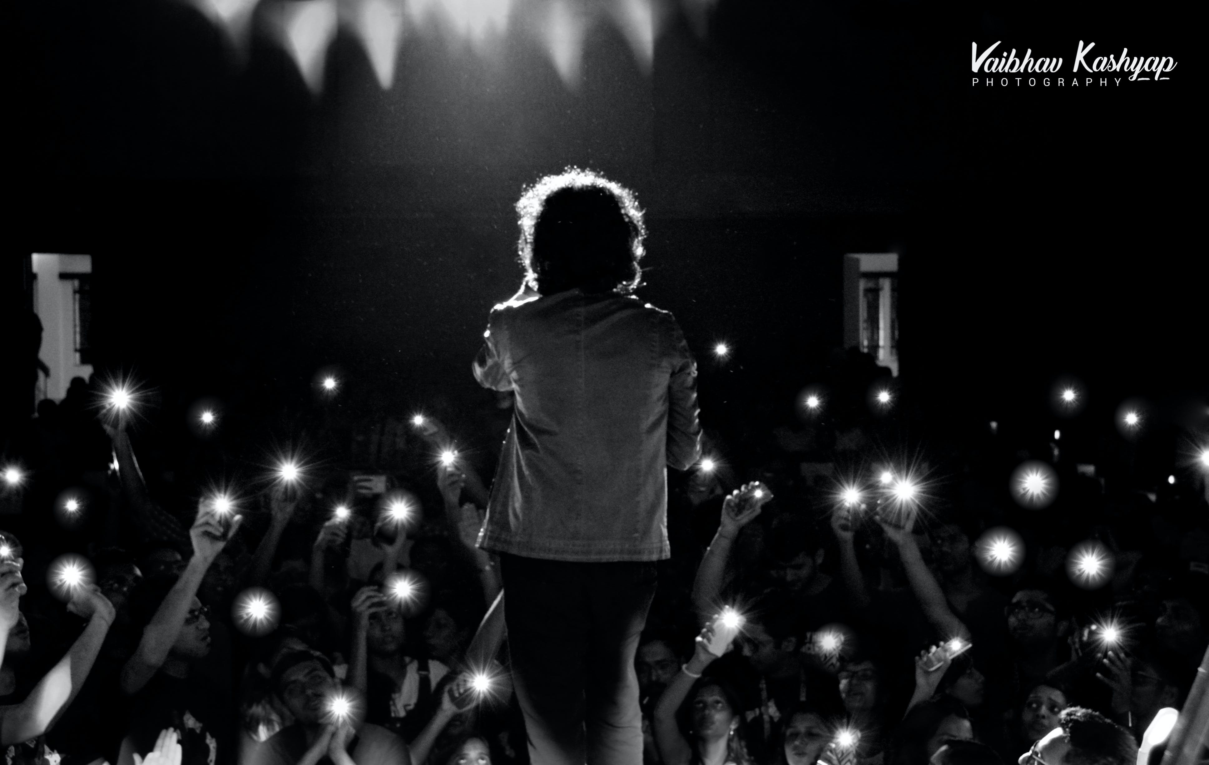 Free stock photo of #Singer #Flash #India #Concert #BackStage