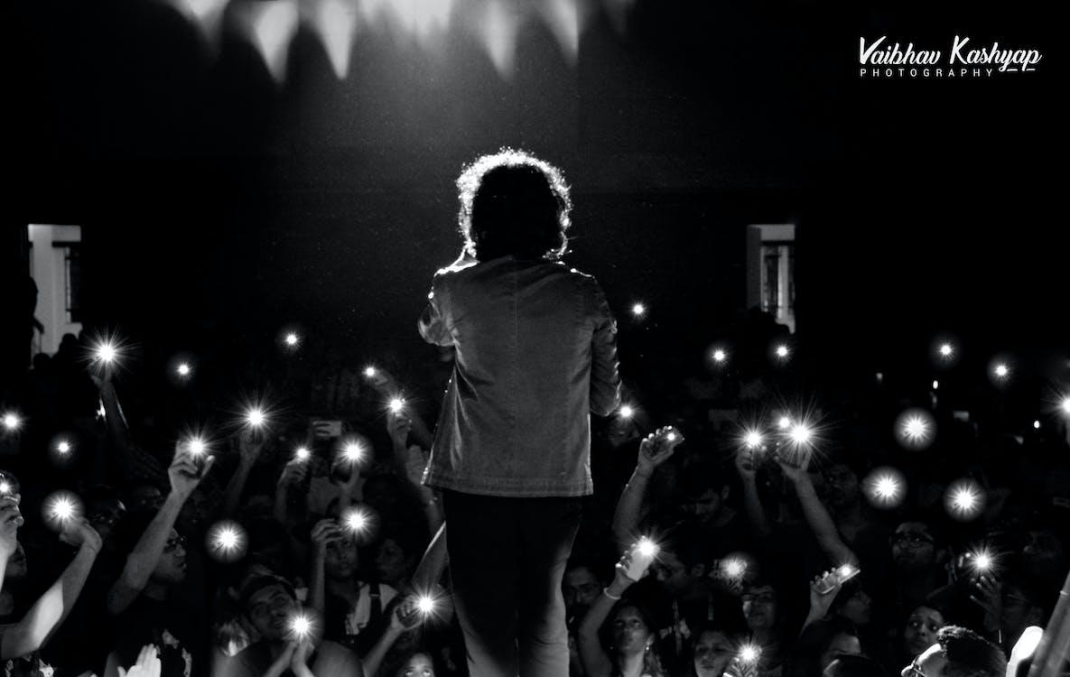 #singer #flash #india #concert #backstage