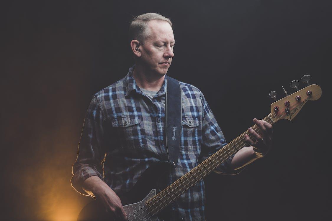 Gratis arkivbilde med band, bass, energi
