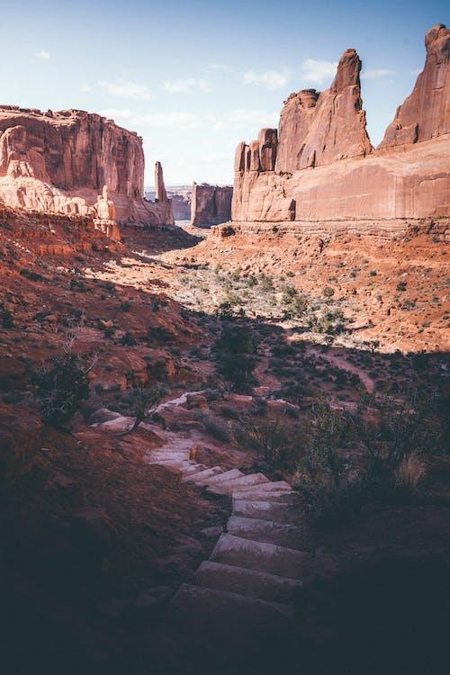 Fotos de stock gratuitas de al aire libre, arenisca, barranco, cañón