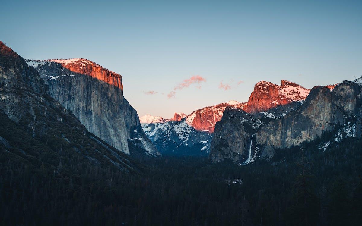 4k tapeter, bergen, bergskedja