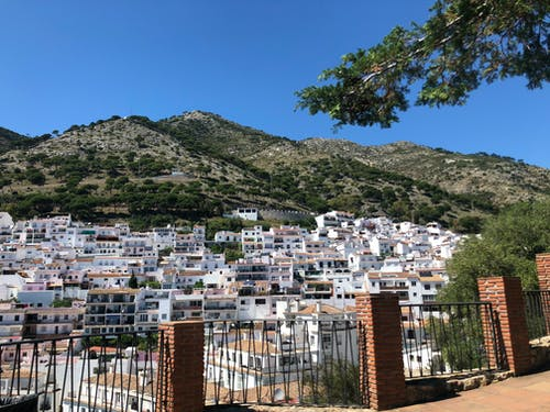 Free stock photo of beautiful, city, girl, Mijas