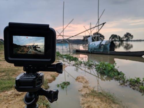 Foto stok gratis GoPro, jaring ikan, memancing, pahlawan