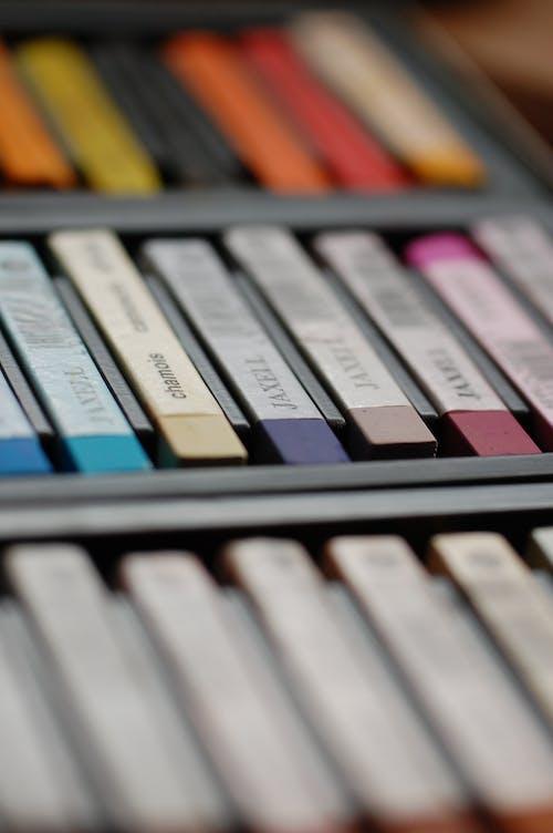 Imagine de stoc gratuită din concentrare, creioane colorate, creion colorat, culori