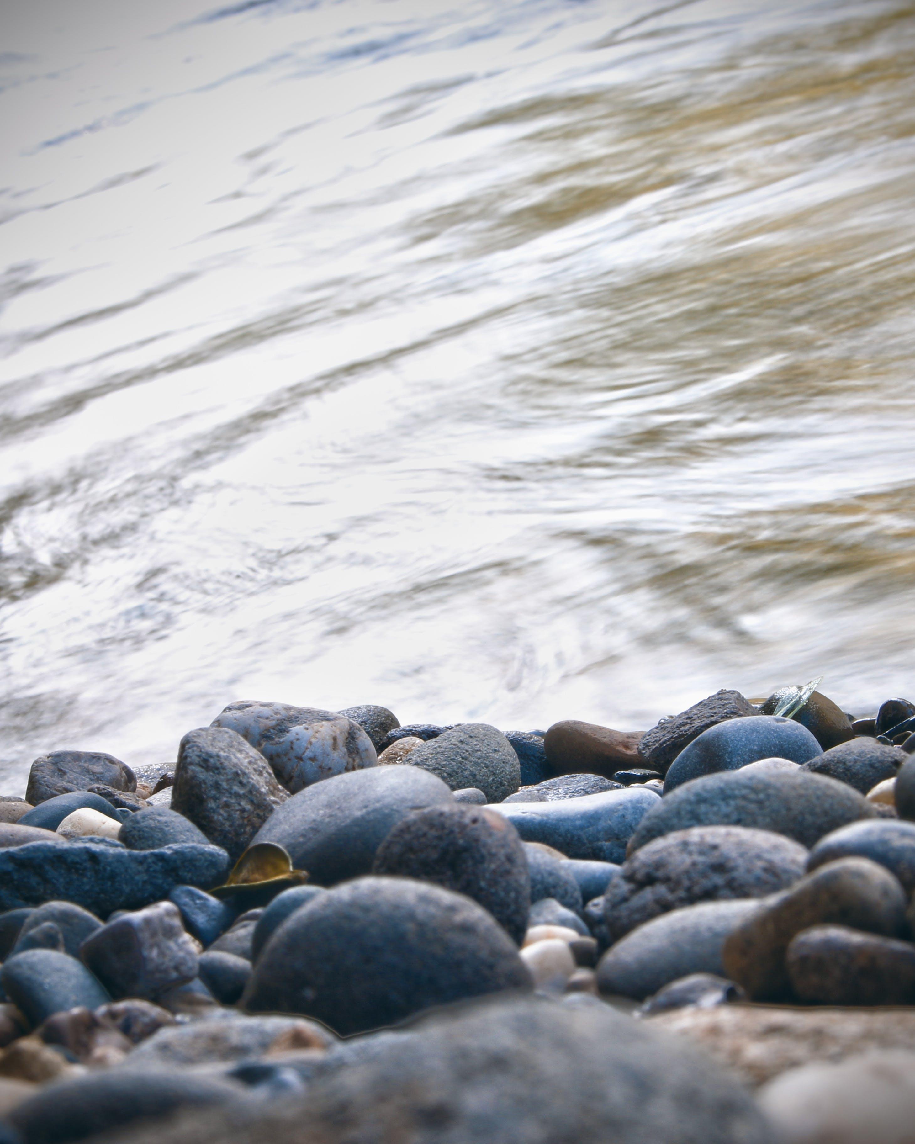 Free stock photo of river, rock, flow, brimstone