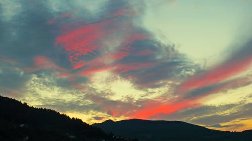 Gratis arkivbilde med atmosfærisk kveld, byhimmelen, dramatisk himmel, himmel