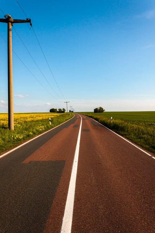 가벼운, 경치, 경치가 좋은, 고속도로의 무료 스톡 사진