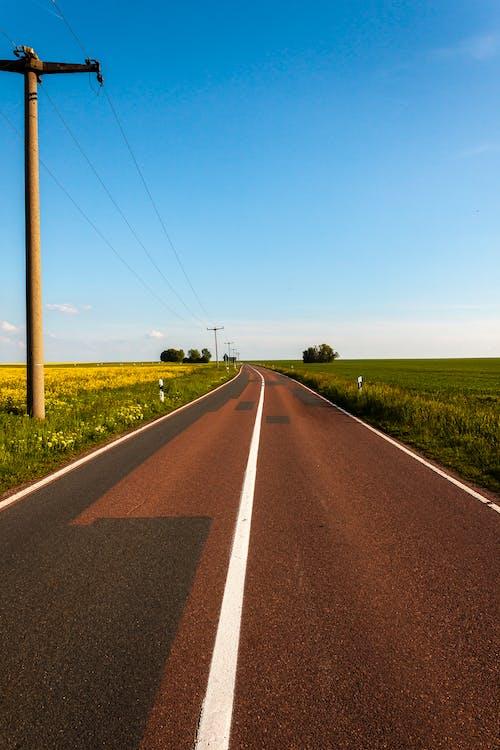 Brown Concrete Road