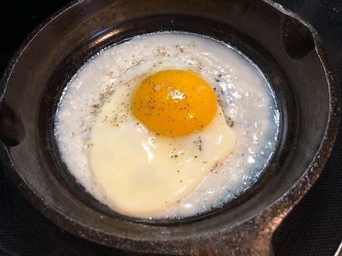 Foto profissional grátis de café da manhã, gema de ovo, ovo