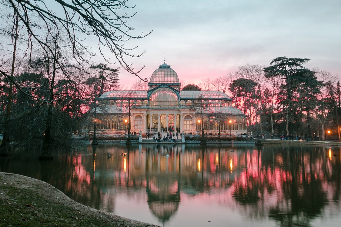 glass palace in Madrid
