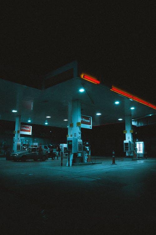 Darmowe zdjęcie z galerii z benzyna, bruk, chodnik, dystrybutor paliwa