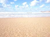 meer, natur, strand