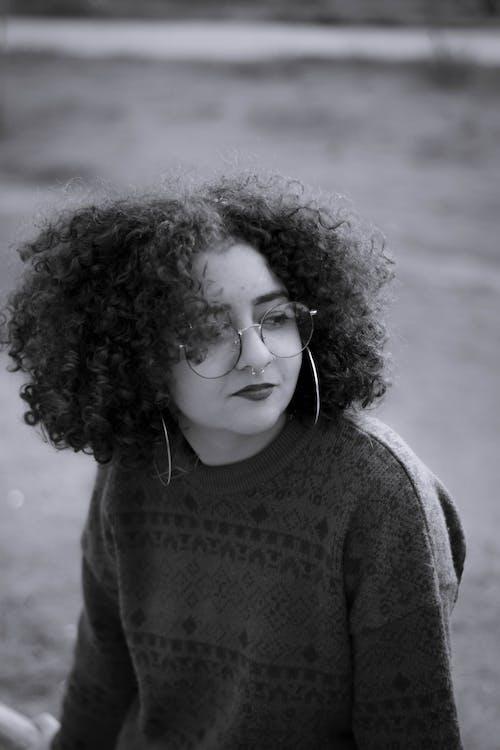 Ingyenes stockfotó afro haj, cachos, fényképészet, lány témában