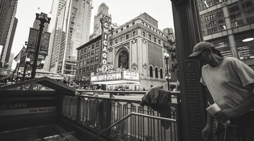 Free stock photo of Chicago theater