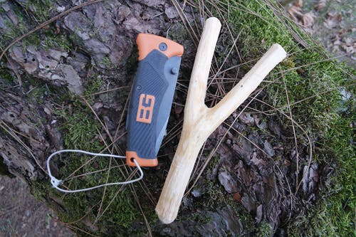 Free stock photo of Bear Grylls, handmade, Slingshot, wood