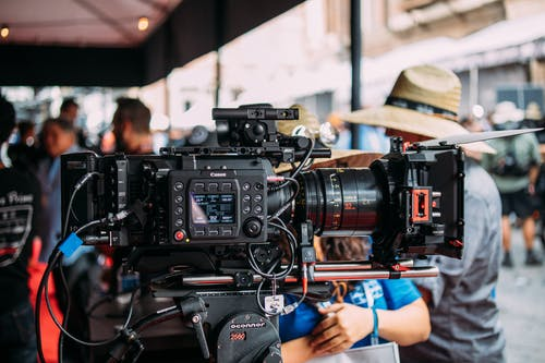 Foto stok gratis canon, kamera, peralatan, produksi