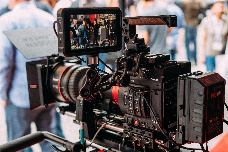 Professional Video Camera · Free Stock Photo