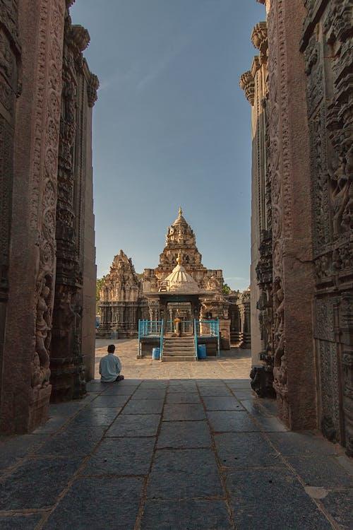 Бесплатное стоковое фото с tadipatri, индия, храм