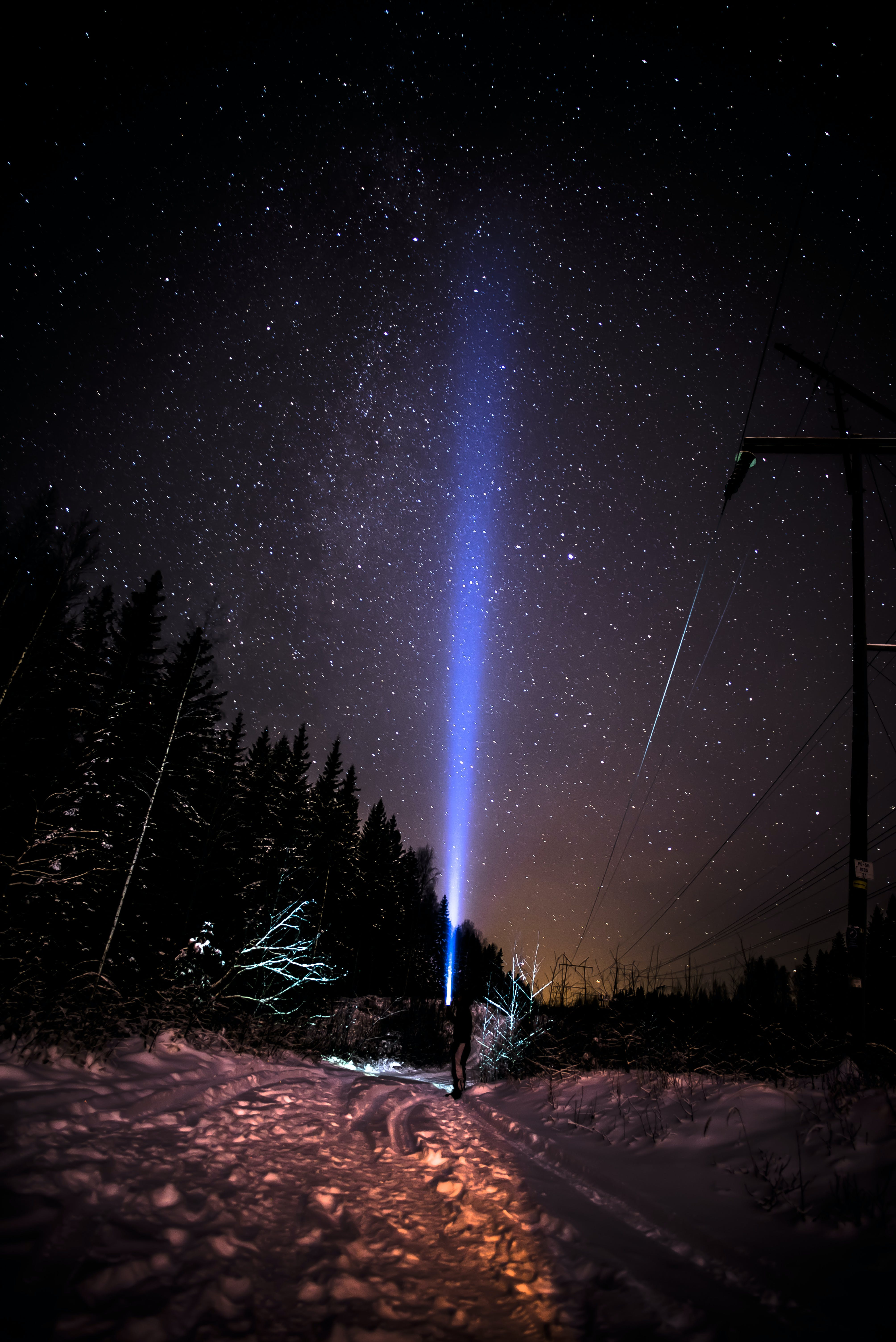 astronomy, constellation, dark